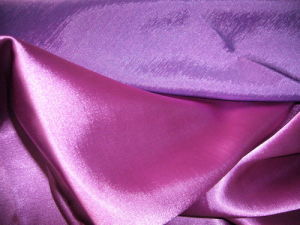 Polyester Two Tone Satin Charmeuse Fabric