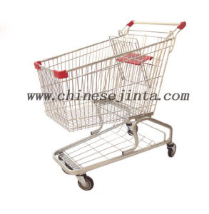 China Cheapest Wholesale Shopping Hand Carts 180L (JT-EC06) pictures & photos