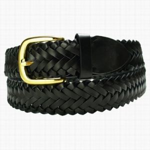 Split Leather Braided Belt (GL005)