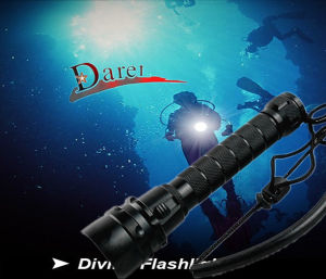 CREE Xml-T6 LED Super Waterproof Diving Flashlight Torch pictures & photos