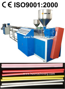 Plastic Cotton Swab Stick Extrusion Machine (1/2 Color) pictures & photos