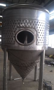 2000L Jacketed Fermenter (MTB)