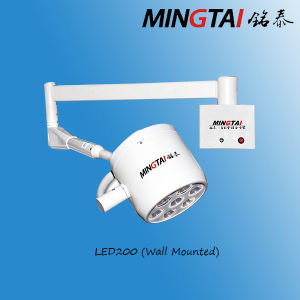Small Surgical Light for Dental Operation Animal Operating LED 200 on Wall pictures & photos