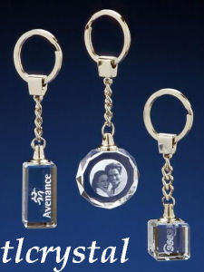 Crystal 3D Laser-Crystal Key Ring (TL09073116)