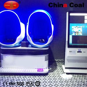 2 Seats 360 Degree Egg Vr 9d Cinema Simulator pictures & photos