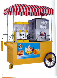 Juice Dispenser+Ice Cream Machine Combination Mobile Vehicle pictures & photos