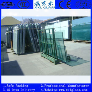 Clear Tempered Glass for Door and Window with CE Certificate
