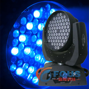 72PCS 9W 3 In1 RGB LED Moving Head Light / LED Moving Head / LED Moving Light