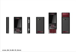 K715 TV Phone with Slide Key-Design