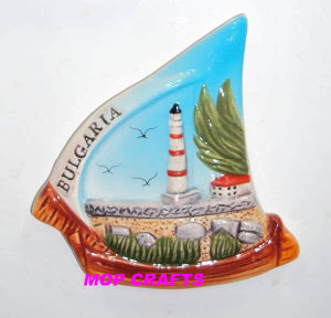 Hand Painted Magnet of Ceramic Souvenir Crafts pictures & photos