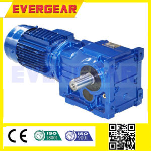 Sew Bevel Gearbox Helical Arrangement Geared Motor Gear Box pictures & photos