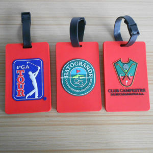 3D Golf Luggage Tag, Rubber Bag Tag for Travelling (ASNY-JL-LT-12060403) pictures & photos