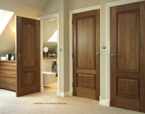Non Toxic Solid Wood Interior Doors for Internal Living Rooms pictures & photos