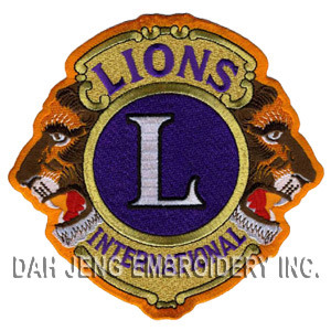 Lions International Embroidered Patch pictures & photos