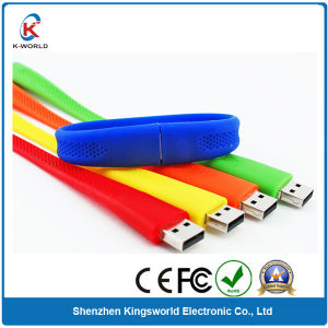 2GB Silicon Wristband USB Flash Drive with RoHS Proved pictures & photos