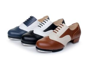 Unisex Soft Cow Leather Tap Shoes for Both Men and Women pictures & photos