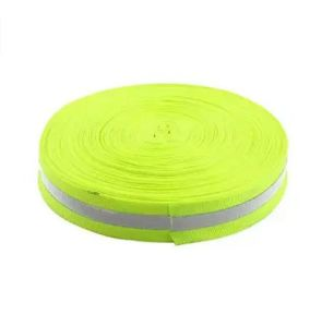 45m Length 2.5cm Width Green Silver Safety Reflective Tape pictures & photos