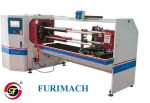 Four Shafts BOPP & Crepe Masking Tape Cutter Machines Supplier Furimach with Economical Price pictures & photos