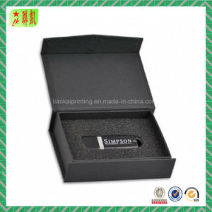 Black Magnetic Closure Gift Box with Lid pictures & photos