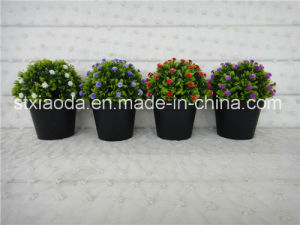 Artiicial Plastic Potted Flower (XD15-368)