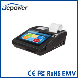 Cashless Payment Finger Scan POS Supports 3 Track Magnetic Card Reader pictures & photos