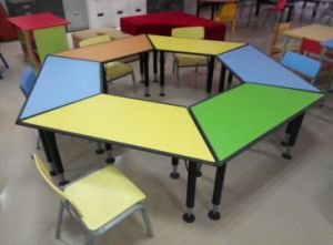 Children Furniture Kids Table and Chair (SF-35C) pictures & photos