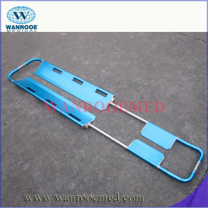 Ea-5A High-Quality Emergency New Scoop Break-Apart Stretcher with Head Immobilizer pictures & photos