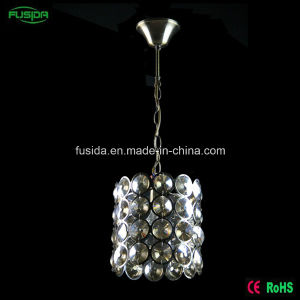 Modern White Round Square Crystal One Light Pendant Light for Wedding Decoration pictures & photos