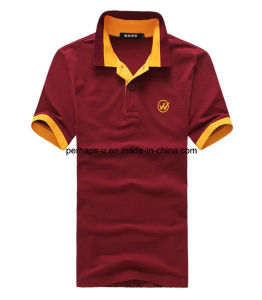 Custom High-End Fashion Men′s T-Shirt Male′s Polo Shirt pictures & photos