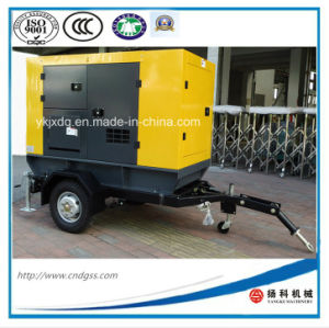 Trailer Mounted 50kw/62.5kVA Portable Diesel Generator with Silent Canopy pictures & photos