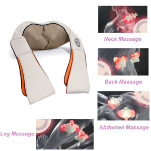 Rechargeable Wireless Heating Shiatsu Massage Belt Body Massager pictures & photos