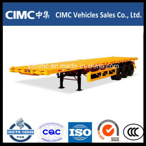 Cimc 3 Axle Container Chassis pictures & photos
