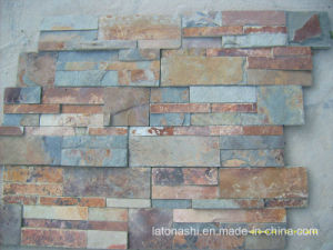 Rusty Slate Veneer Tiles for Wall Cladding pictures & photos