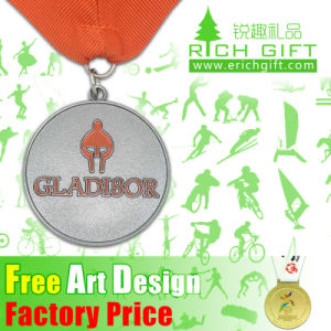 Fashionable High Quality Custom Metal Sports Trophy Karate Medal pictures & photos