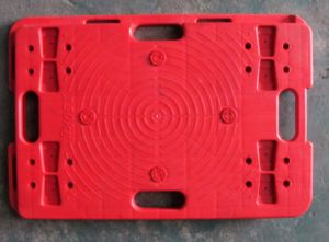150kgs Red Color Plastic Splicing Tortoise Tablet Trolley Turtle Hand Truck pictures & photos
