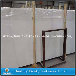 Polished China Snow White Marble for Flooring Tiles and Slabs pictures & photos