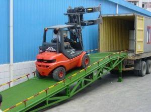Warehouse Cargo Center Dock Ramp
