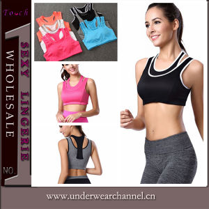 Fashion Women Ultra Sweat Sports Suit Running Yoga Wear (THSW20) pictures & photos