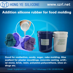 FDA Liquid Silicone Rubber for Chocolate Molds Making with MSDS pictures & photos