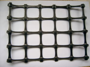 High Density Poiyethylene Uniaxial Geogrid Cheap Price pictures & photos