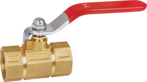 Brass Ball Valve with Steel Handle (All kinds of handle) BV-1080 pictures & photos