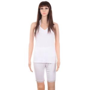 Fashion Clothes Women Rayon Underwear Set Sleepwear Custom Pajamas pictures & photos