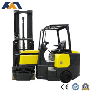 New Model Fb20se Narrow Aisle Electric Forklift, Design for Space-Saving pictures & photos