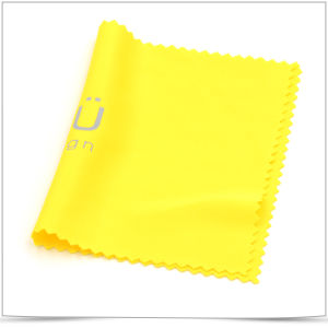 Hot Silver Stamping Microfiber Cleaning Cloth pictures & photos