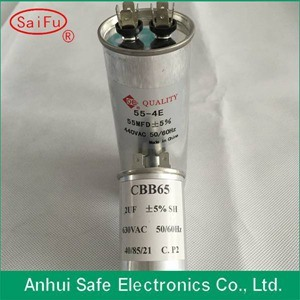 Cbb65 55UF 440V Capacitor with Oval Shape pictures & photos