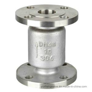 Oil Water Nitric Acid Flanged Vertical Check Valve pictures & photos
