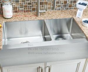 Stainless Steel Apron Farmhouse Kitchen Sink, Handmade Sink, Stainless Steel Sink, Kithen Sink, Sink pictures & photos