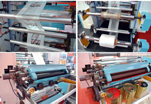 Film Blowing Machine with Offset Press Unit pictures & photos