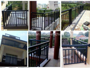 Powder Coated Steel Fence Panels for Home Garden Fencing pictures & photos