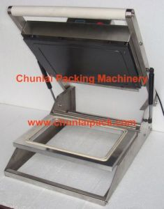 Manual Tray Box Sealing Machine pictures & photos